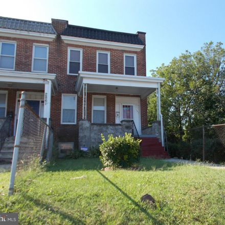 Rent this 3 bed townhouse on 2863 West Cold Spring Lane in Baltimore, MD 21215