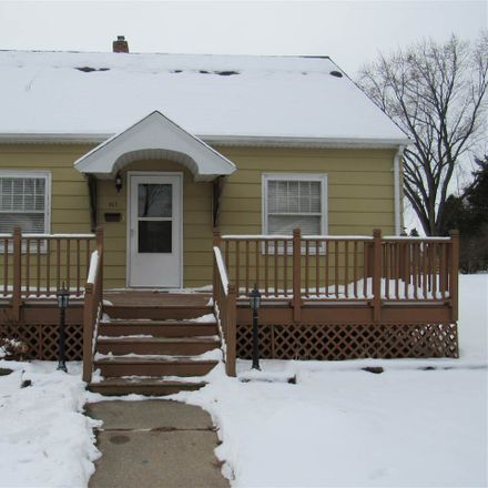 Rent this 3 bed house on 817 Elm Street in De Pere, WI 54115