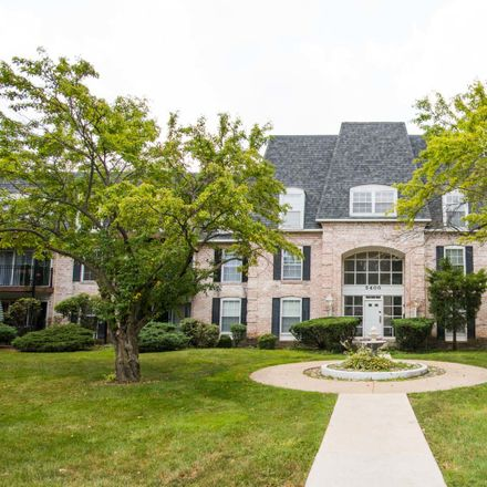 Rent this 2 bed condo on 5400 Carriageway Drive in Rolling Meadows, IL 60008