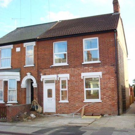 Rent this 1 bed apartment on Pizza Hut in 48 Foxhall Road, Ipswich IP3 8HN