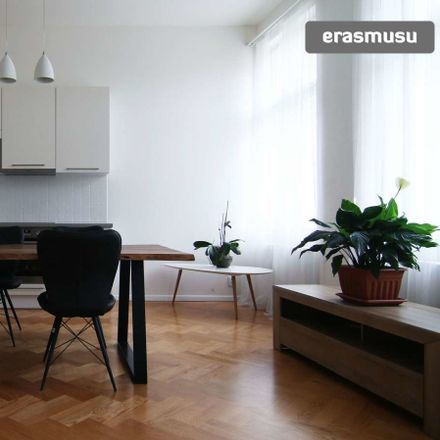 Rent this 1 bed apartment on Kaizlovy sady 434/13 in 186 00 Praha 8-Karlín, Czechia