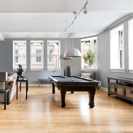 Rent this 3 bed loft on Starbucks in 130 Fulton Street, New York