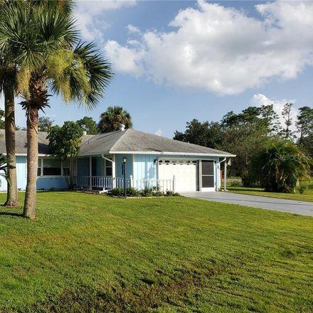 Rent this 3 bed house on 640 Koala Court in Johnson, FL 34759