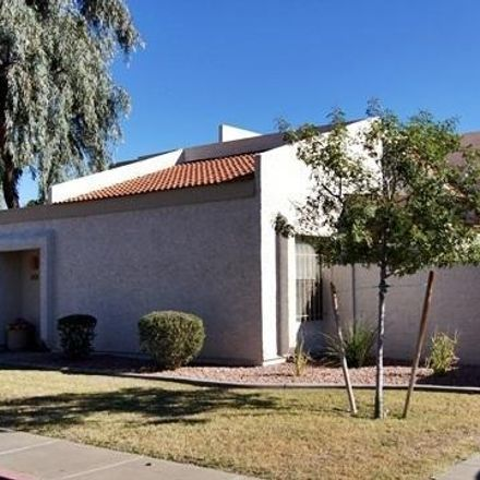 Rent this 3 bed townhouse on 1342 West Emerald Avenue in Mesa, AZ 85202