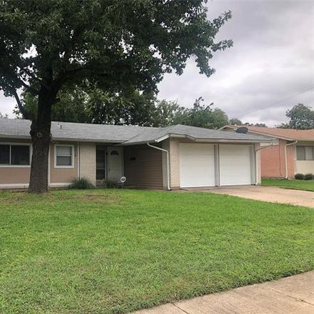 Rent this 3 bed house on 4318 Windsor Drive in Garland, TX 75042