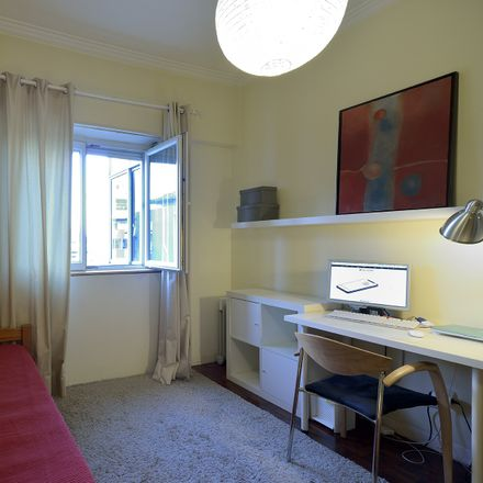 Rent this 1 bed room on Rua Francisco Baía in 1500-581 Lisbon, Portugal