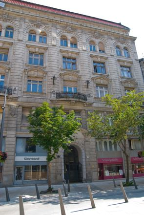 Rent this 1 bed apartment on Budapest in Kecskeméti u. 2, 1053 Hungary