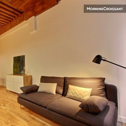 Rent this 1 bed apartment on 40 Rue Burdeau in 69001 Lyon, France