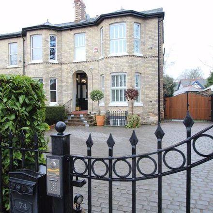 Rent this 5 bed house on Ashley Road in Trafford WA14 2UZ, United Kingdom