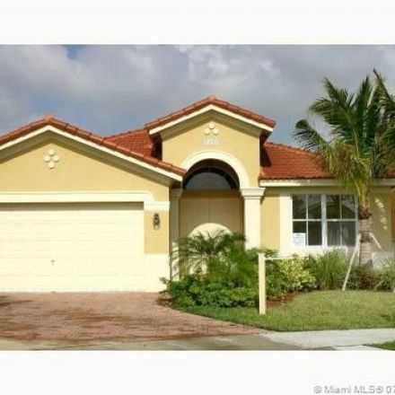 Rent this 4 bed house on 24025 Southwest 110th Court in South Allapattah, FL 33032