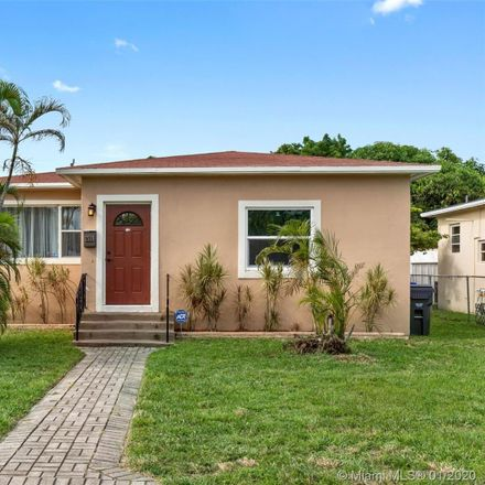 Rent this 3 bed house on 2519 Rodman Street in Hollywood, FL 33020