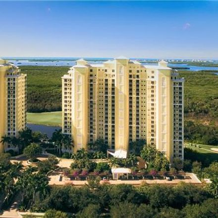 Rent this 4 bed condo on 4751 West Bay Boulevard in The Colony Golf & Bay Club, FL 33928
