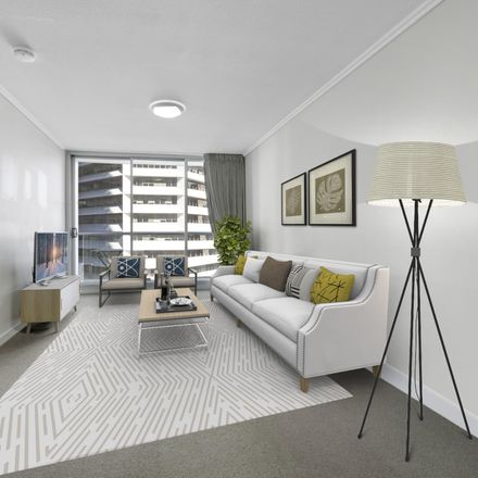 Rent this 1 bed apartment on 1105/108 Albert Street