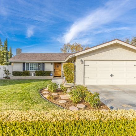 Rent this 3 bed house on 4819 W Ave L in Lancaster, CA