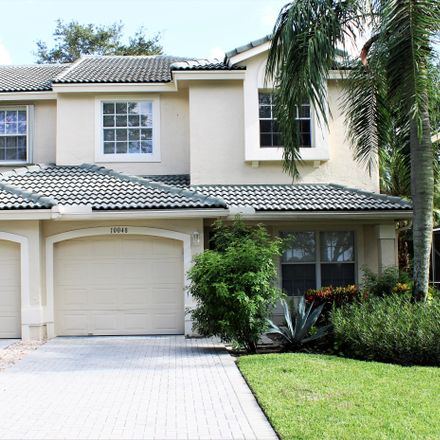 Rent this 3 bed townhouse on 10048 Boca Palm Dr in Boca Raton, FL