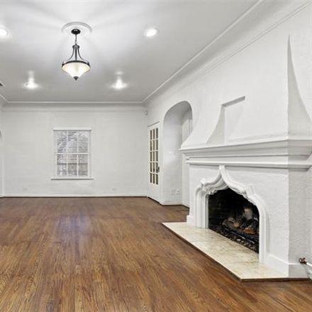 Rent this 3 bed duplex on 4406 University Boulevard in University Park, TX 75205