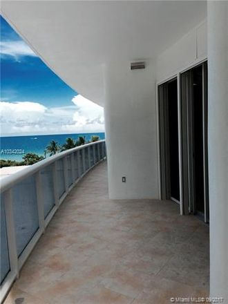 Rent this 2 bed house on 9601 Collins Ave in Bal Harbour, FL