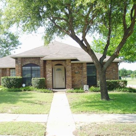 Rent this 3 bed house on 712 Tribal Road in Plano, TX 75023