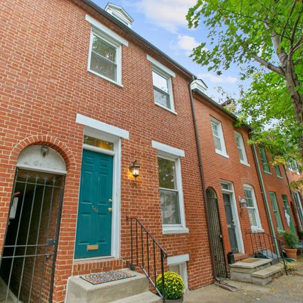 Rent this 3 bed townhouse on 10 East Henrietta Street in Baltimore, MD 21230
