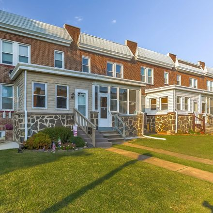 Rent this 3 bed townhouse on 6732 Woodley Road in Dundalk, MD 21222