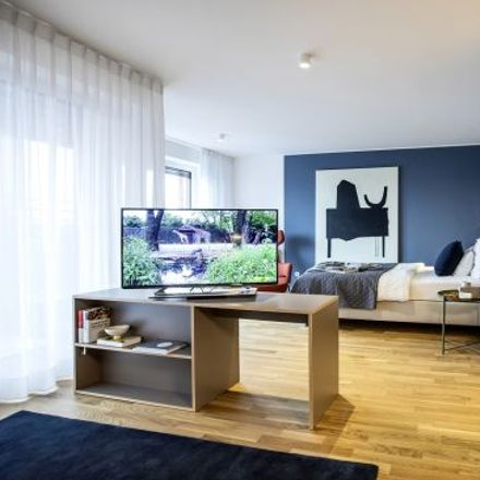 Rent this 1 bed apartment on Oskar-von-Miller-Straße 12 in 60314 Frankfurt, Germany